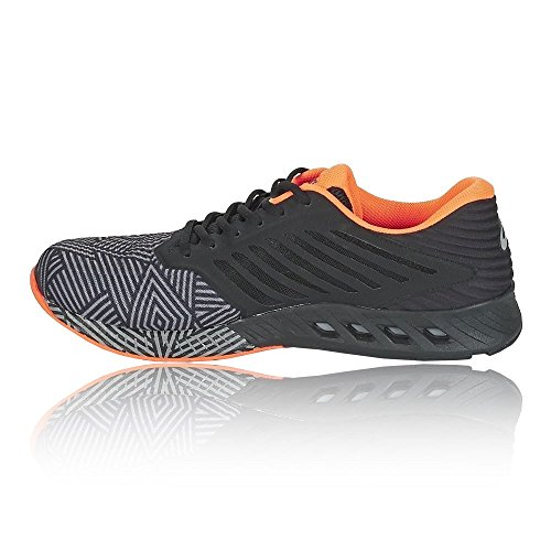 Fuzex UK 5 Black Orange Asics Running Hombre de 7 Zapatillas para x1dwSvqRw