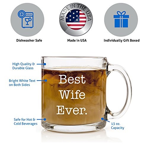 Best Wife Ever Coffee Mug Perfect Christmas, Anniversary ...