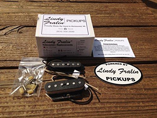 Lindy Fralin High Output Tele PICKUP SET Fender Telecaster HOT - Tele Fralin Pickups