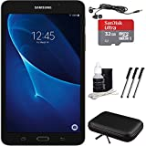 "Samsung Galaxy Tab A Lite 7.0"" 8GB Tablet PC (Wi-Fi) Black Bundle includes Tablet, 32GB MicroSDHC Memory Card, Sleeve, Earbuds, 3 Stylus Pens and Cleaning Kit"