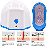 Pevor Hair Growth Helmet Regrowth Hat Cap with 80 Diodes Hair Growth Device Hair Loss Treatment for Men and Women