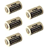 5pc Exell Battery 3V 1/2 AA CR14250SE High Capacity Laser Lithium Button Top Battery Replaces FDK CR14250SE, Sanyo CR12450 SE, Sanyo CR14250, Sanyo CR14250SE, Varta 6127, Varta CR 1/2 AA, Varta CR 1/2AA, Varta CR-1/2-AA, Varta CR1/2 AA, Varta CR1/2AA