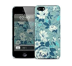floral blue vintage pattern iPhone 5 / 5S protective case