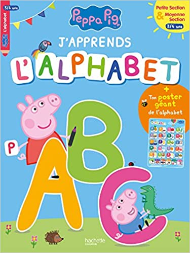 J Apprends L Alphabet Avec Peppa 3 4 Ans Amazon Co Uk