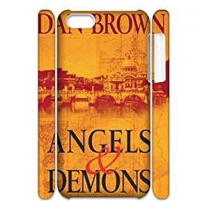 Clzpg 3D Cheap Iphone 5C Case - Angels and Demons 3D case cover