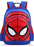 Waterproof Cute 3D Spiderman Children Backpacks Baby School Bags For Boys Cartoon Backpack Kids -xx