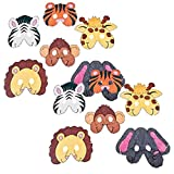 Fun Express Color Design Your Own Zoo Animal Mask - 24 Pieces