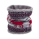 Toaimy Scarves Men'S And Women'S Fur Ring Cowl Scarf Scarves Headband Neck Winter Warmer Elastic
