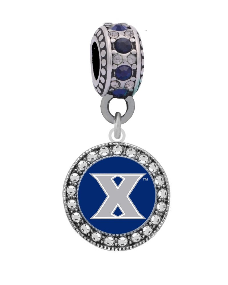 Final Touch Gifts Xavier University Crystal Charm