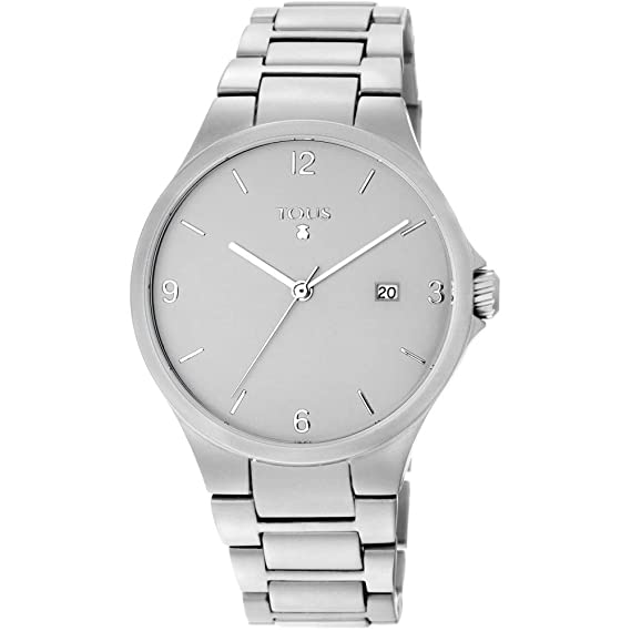 Reloj tous 800350655 Motion Aluminio de aluminio anodizado plateado: Amazon.es: Relojes