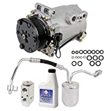 AC Compressor & Clutch With Complete A/C Repair Kit For S...