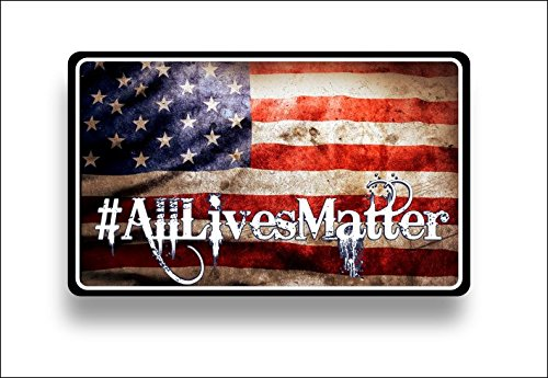 #alllivesmatter american flag sticker / decal **Free Shipping**