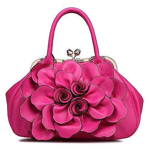 Sacs Dames du et Sacs l'été épaule Femmes Main Sacs de Sacs Les Printemps célibataires de Fleurs de des des red à ZHANGJIA des O7WZHv1W
