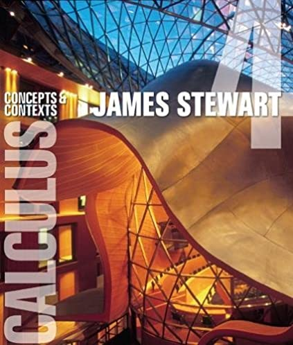 calculus concepts and contexts available 2010 titles enhanced web rh amazon com james stewart calculus 4th edition solutions manual download Calculus Early Transcendentals James Stewart
