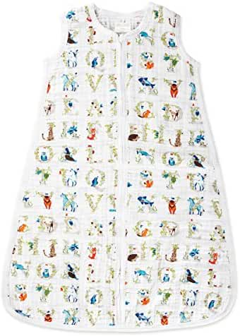 aden + anais Classic Sleeping Bag, Paper Tales- X-Large