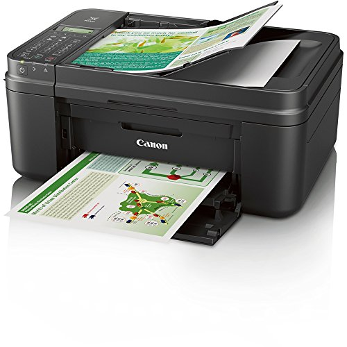 Canon PIXMA MX492 WiFi All-In-One Compact Size Inkjet Printer (0013C002) w/ Canon Black Ink Bundle Includes, Genuine Canon Black Fine Ink Cartridge, 6-Outlet Surge Adapter & 1 Year Extended Warranty by Beach Camera (Image #2)