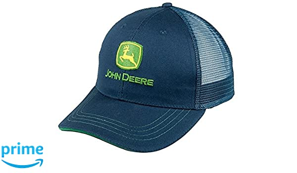 John Deere - Gorra de béisbol - para Hombre Azul Azul Talla única   Amazon.es  Ropa y accesorios 3bca7f24f26