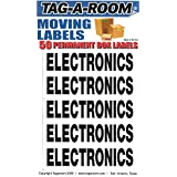 Tag-A-Room Box Content Moving Label (Electronics)