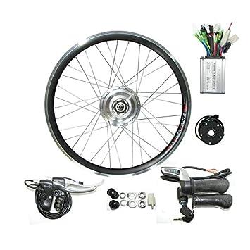 GZFTM Kit de conversión eléctrico de la Bicicleta del Motor del Eje ...