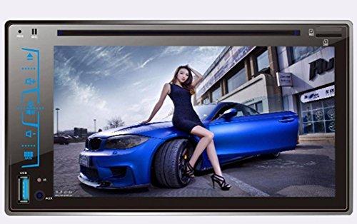 Feccoe 7 inch (Screen size:6.2-inch) Touch Digital HD 2DIN ... on