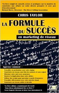En ligne La formule du succès en marketing de réseau pdf