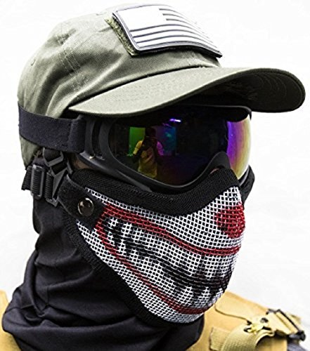 low profile airsoft mask - 7