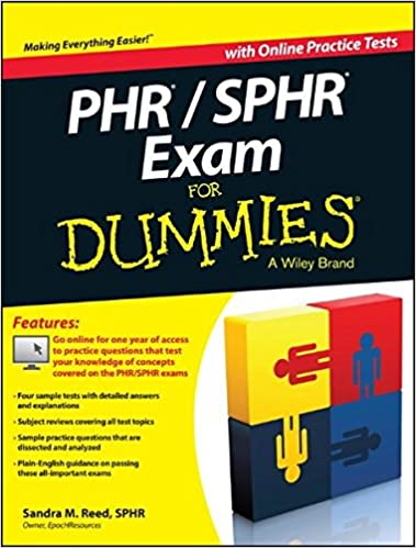 buy phr / sphr exam for dummies book online at low prices in india ...