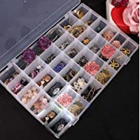 Celebrationgift 36 Adjustable Multipurpose Plastic Storage Box For Jewellery Medicine Pills Tools Etc. (1.00)