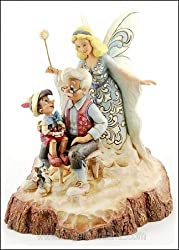 Jim Shore Disney Tradition | Pinocchio 'Wood Carved...