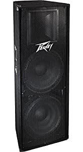 """Peavey PV215D 800w Powered Speaker Enclosure w/ 2 15"""" Heavy Duty Woofers and HD Driver"""