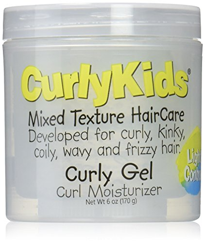 Curly Kids Curly Gel Moisturizer, 6 oz (Best Hair Products For Mixed Kids)