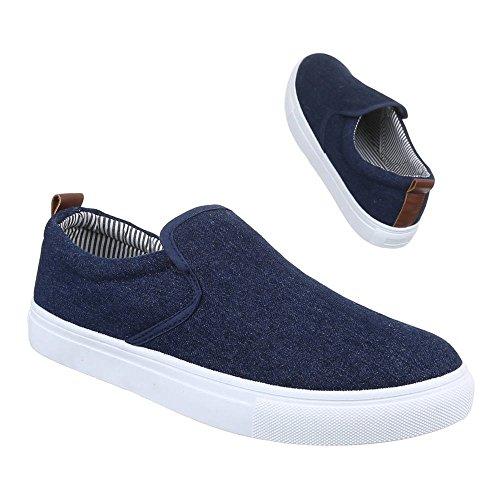Ital-Design - Zapatos Hombre Azul - azul oscuro