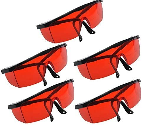 Protection Goggle Glasses for Dental Curing Whitening Light Lamp for Dentist by East Dental 5pcs