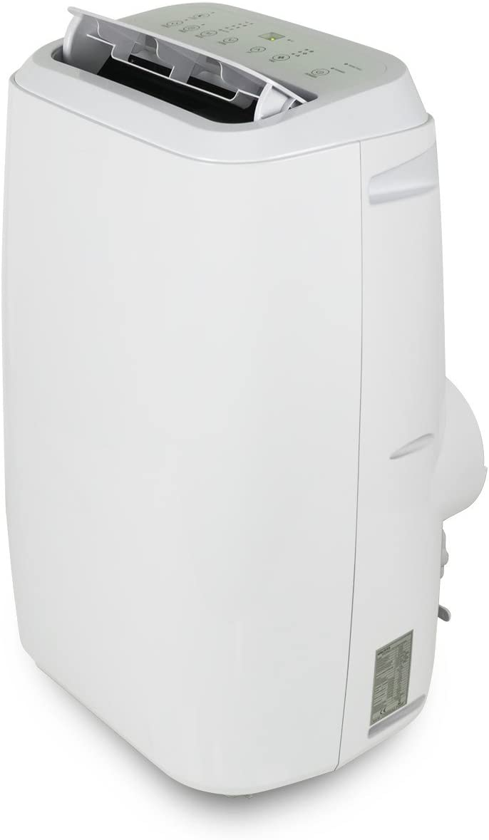 electriQ 18000 BTU Portable Air Conditioning Unit Mobile Air Conditioner and Heat Pump 1.7 kW - White