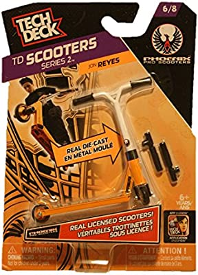 1 TECH DECK SCOOTER - Scooters Series 2 (6/8) - PHOENIX ...