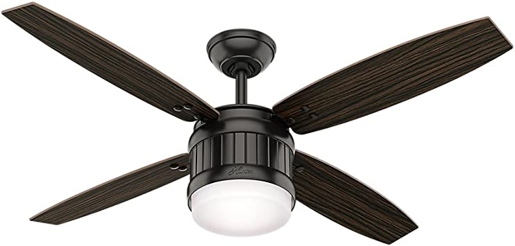 Hunter Fan Company 59315 Seahaven Ventilador de techo Hunter luz ...