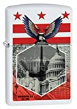 Zippo Washington DC Landmarks White Matte Pocket Lighter