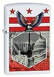 Zippo Washington DC Landmarks White Matte Pocket Lighter