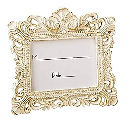 1cacc51f845 Fashioncraft Vintage Baroque Design Placecard Holder or Picture Frame (50)