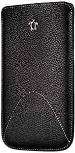 Issentiel IS53858 - Funda para Samsung Galaxy Note 2 (piel), color negro