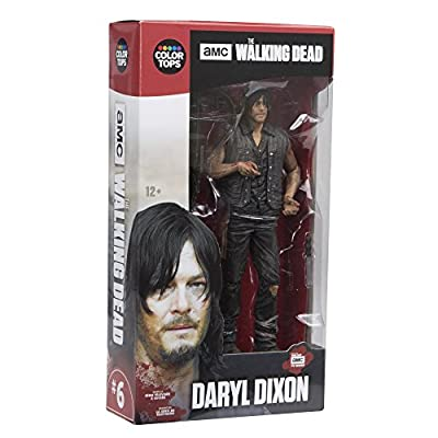 """McFarlane Toys The Walking Dead TV Daryl Dixon 7"""" Collectible Action Figure: Toys & Games"""