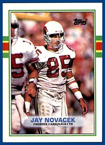 1989 Topps #282 Jay Novacek RC PHOENIX ARIZONA CARDINALS ROOKIE WYOMING (mint)]()