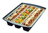 Chicago Metallic Professional Lasagna Trio Pan, 16-Inch-by-12.5-Inch