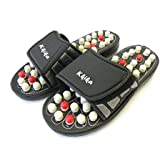 Kkika Sandal Reflex Massage Slippers Acupuncture Foot Healthy Massager Shoe For Man 9-9.5/Women 10-10.5