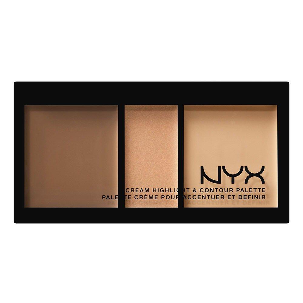 NYX Cosmetics Cream Highlight & Contour Palette Medium