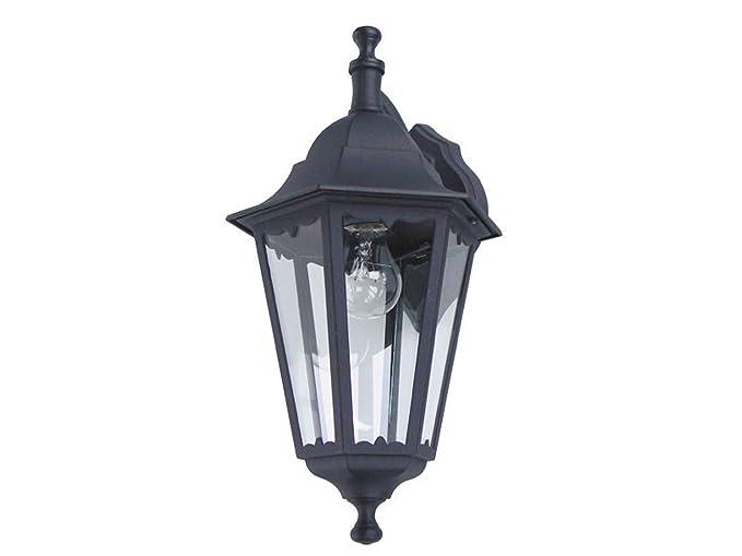 Lanterna Illuminazione : Applique da parete lanterna classico nero facciata illuminazione
