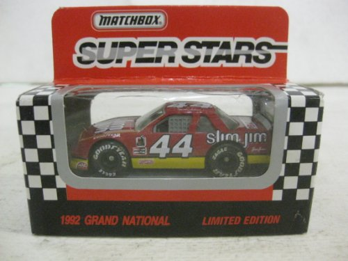 Super Stars #44 Bobby Labonte Slim Jim Racing Nascar In Red Diecast 1:64 Scale By Matchbox - Antique Matchbox Cars