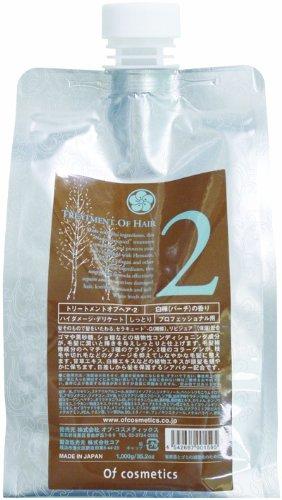 オブコスメティックス トリートメントオブヘア2 エコサイズ(白樺の香り)1,000g B0055MCI7Q  1,000g