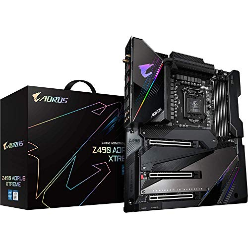 Gigabyte Z490 AORUS Xtreme LGA 1200 Extended ATX Intel Z490 Motherboard