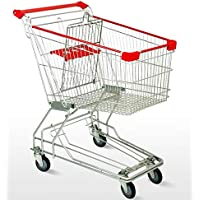 Bigapple BA-AS100 Heavy Weight King Shopping Trolley, 100L Capacity, Asian Style
